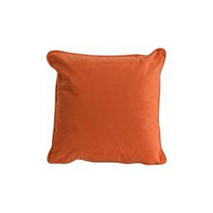 Hill Interiors 19344 Orange Velvet Cushion 40x40cm ORANGE Width 40cm Height 40cm Depth 0cm Weight 0.50kg, Gifts & Accessories > Textiles