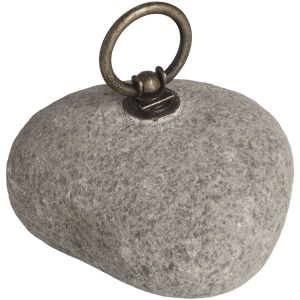 Hill Interiors 17485 River Stone Door Stop STONE Width 12cm Height 12cm Depth 4cm Weight 1.50kg, Gifts & Accessories > Ornament