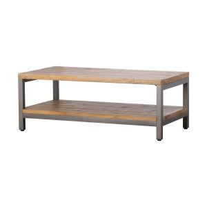 Hill Interiors 19531 The Draftsman Collection Coffee Table WOOD Width 120cm Height 45cm Depth 65cm Weight 20.70kg, BROWN