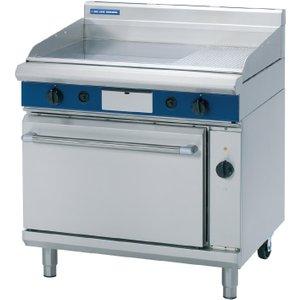 Blue Seal Evolution Lpg 1/3 Ribbed Griddle Electric Convection Oven 900mm Gpe56/l Gpe56/l (pgh920r3) Cooker Hoods