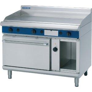 Blue Seal Evolution Lpg Chrome Griddle Electric Convection Oven 1200mm Gpe58/l Gpe58/l (pgh1220c) Cooker Hoods