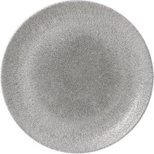 Churchill Rakuevolve Coupe Plates Jasper Grey 286mm (pack Of 12) Pack Of 12 Rkgjev111 Food