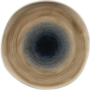 Churchill Stonecast Aqueous Organic Round Plates Bayou Taupe 264mm (pack Of 12) Pack Of 12 Sabtog101 Freezers