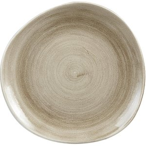 Churchill Super Vitrified Churchill Stonecast Patina Antique Organic Round Plates Taupe 286mm (pack Of 12) Pack Of 1 Paatog111 Crockery