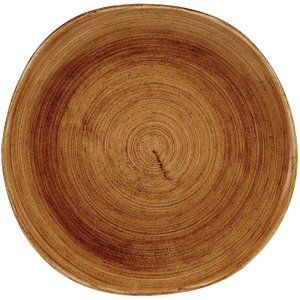 Churchill Stonecast Patina Organic Round Plates Vintage Copper 264mm (pack Of 12) Pack Of  Pavcog101 Crockery