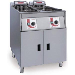 Frifri Super Easy Twin Tank Twin Basket Free Standing Electric Fryer 650138 Deep Fryers