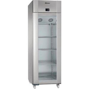 Gram Eco Plus 1 Glass Door 610ltr Fridge Stainless Steel Kg 70 Ccg C1 4n Kg 70 Ccg C1 4n (960730314) Refrigeration