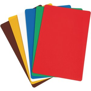 Hygiplas Colour Coded Chopping Mats Set Standard (pack Of 6) Pack Of 6 Cp520 Cookware & Utensils
