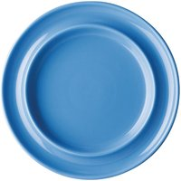 Kristallon Heritage Raised Rim Plates Blue 205mm (pack Of 4) Pack Of 4 Dw700 Crockery