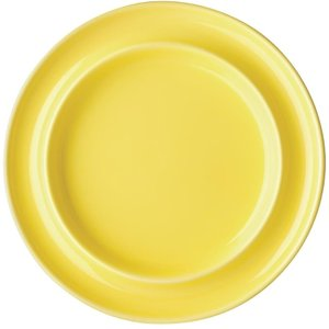 Kristallon Heritage Raised Rim Plates Yellow 205mm (pack Of 4) Pack Of 4 Dw706 Crockery
