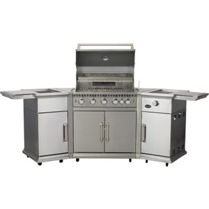 Lifestyle Bahama Island Gas Bbq C/w Rotisserie & Cover Lfs680p Cs408 Rc Barbecues & Accessories