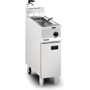 Lincat Opus 800 Single Tank Single Basket Free Standing Natural Gas Filtration Fryer Og811 Og8110/op/n Deep Fryers
