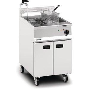 Lincat Opus 800 Single Tank Twin Basket Free Standing Electric Filtration Fryer Oe8108/op Deep Fryers