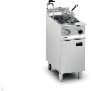 Lincat Vortech Single Tank Twin Basket Free Standing Propane Gas Filtration Fryer Og8115/o Og8115/op/p Deep Fryers