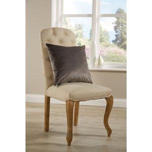 Mitre Comfort Darcy Unpiped Cushion Steel Hd461