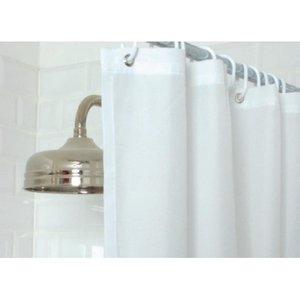 Mitre Essentials Plain Shower Curtain White Gt798 Cleaning
