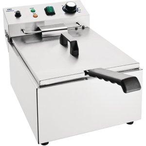 Nisbets Essentials Single Tank Electric Fryer Ct956 Deep Fryers