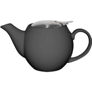 Olympia Cafe Teapot 510ml Charcoal Gm596 Crockery