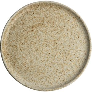 Olympia Canvas Small Rim Round Plate Wheat 265mm (pack Of 6) Pack Of 6 Fa338 Crockery