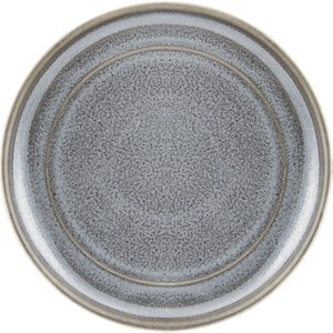 Olympia Cavolo Flat Round Plates Charcoal Dusk 180mm (pack Of 6) Pack Of 6 Fd920 Food