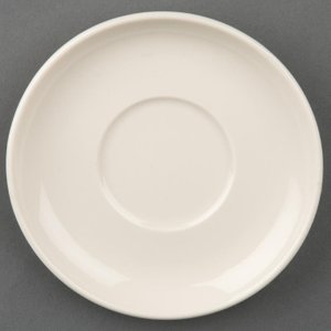 Olympia Ivory Espresso Saucers (pack Of 12) Pack Of 12 U109 Crockery