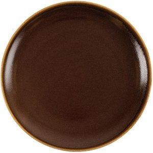 Olympia Kiln Round Plate Bark 280mm (pack Of 4) Pack Of 4 Gp468 Crockery