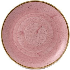 Churchill Super Vitrified Petal Pink Coupe Plate 10 1/4  (pack Of 12) Pack Of 12 Sppsev101 Crockery