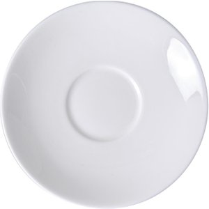 Royal Crown Derby Whitehall Coupe Saucer 150mm (pack Of 6) Pack Of 6 Whiall62683 Storage