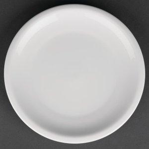 Royal Porcelain Classic White Narrow Rim Plates 170mm (pack Of 12) Pack Of 12 Cg012 Crockery