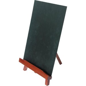 Securit Bar Top Easel And Chalkboard A4 E078 Tables
