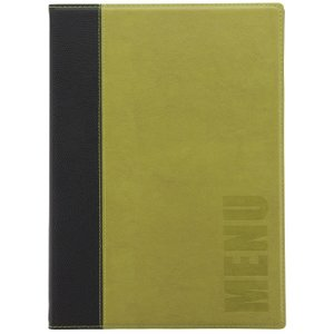 Securit Contemporary Menu Cover Green A4 H719 Office Supplies