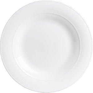 Rene Ozorio Steelite Ozorio Aura Rim Plates 270mm (pack Of 12) Pack Of 12 6300p010 Crockery