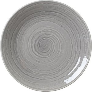 Steelite Scape Grey Coupe Plates 285mm (pack Of 12) Pack Of 12 1402x0065 Crockery