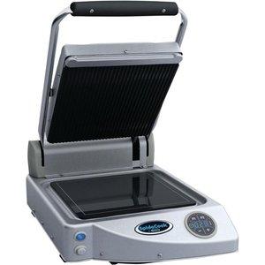Unox Spidocook Digital Single Ribbed Contact Grill Xp010er Cookware & Utensils