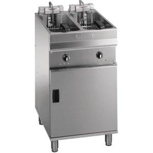 Valentine Twin Tank Twin Basket Free Standing Electric Filtration Fryer Evo 2525p Evo2525p Deep Fryers