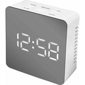 Acctim Lexington Led Alarm Clock, White 5101120070, White