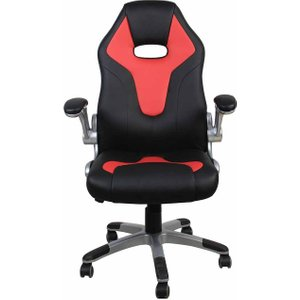 Alphason Le Mans Racing Style Gaming Chair, Black And Red 1075201646, Black and Red