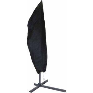 Charles Bentley Garden Banana Parasol Protective Cover, Black 1095590684, Black