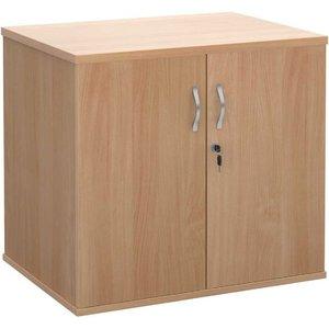 Dams Desk High Cupboard With Doors, Beech 1010090103, Beech