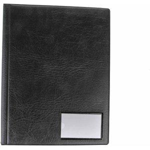 Goldline Display Book A4 12 Pockets, Black, Black