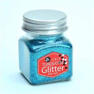 Jakar Glitter Shaker 40g, Turquoise, Turquoise