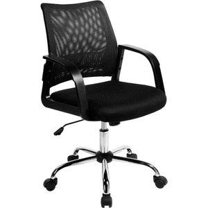 Eliza Tinsley Mesh Back Operator Chair, Black 1095150005, Black