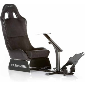 Playseat Evolution Alcantara Gaming Chair, Black 1605150031, Black