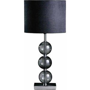 Premier Housewares Mistro Table Lamp, Black 0985040143, Black