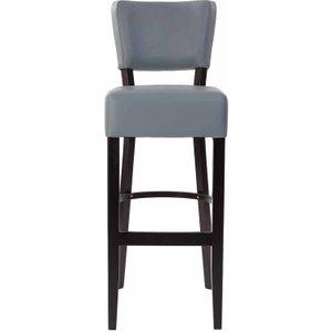 Tabilo Sena Faux Leather Bar Chair, Grey 1075201695, Grey