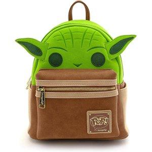 Loungefly Star Wars Yoda Mini Backpack Stbk0156 Novelty Gifts