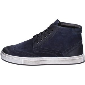 Bruno Verri  Sneakers Suede Ay76  Men's  In Blue. Sizes Available:5,10, Blue