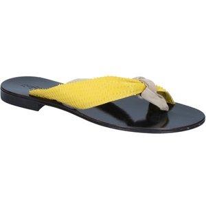 Calpierre  Sandals Suede Leather Bz869  Women's Sandals In Beige. Sizes Available:3,4, Beige