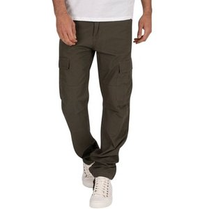 Carhartt  Rinsed Aviation Slim Fit Cargos  Men's Trousers In Green. Sizes Available:us 34 , Green