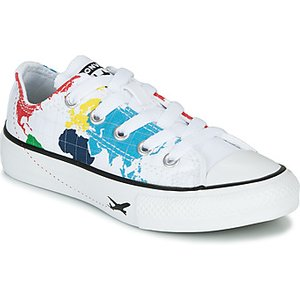 Converse  Chuck Taylor All Star - Ox  Girls's Children's Shoes (trainers) In Multicolour. , Multicolour